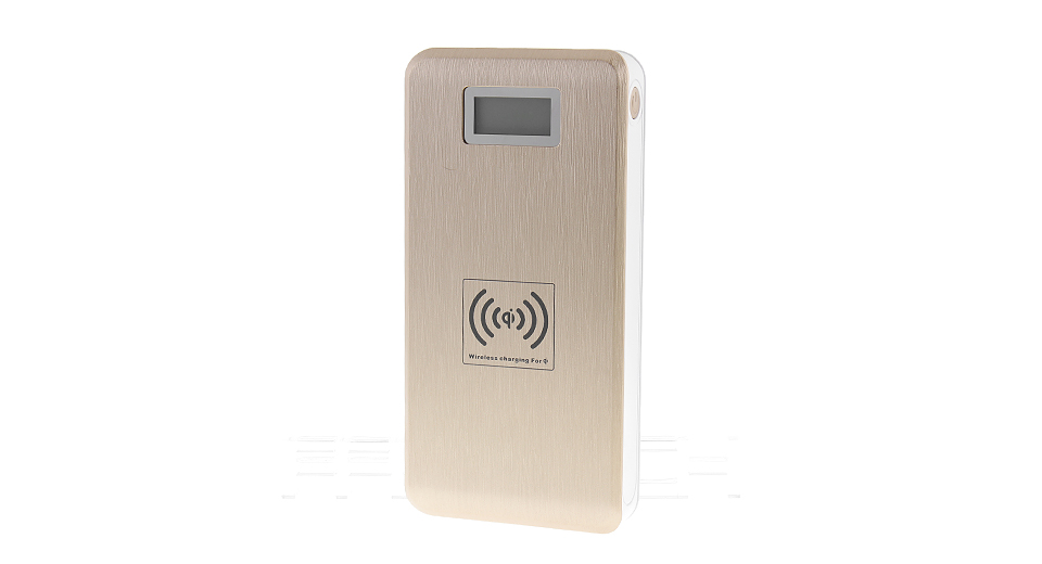 "Image of 1.06"" Qi Inductive Wireless Mobile Power Bank (12000mAh)"