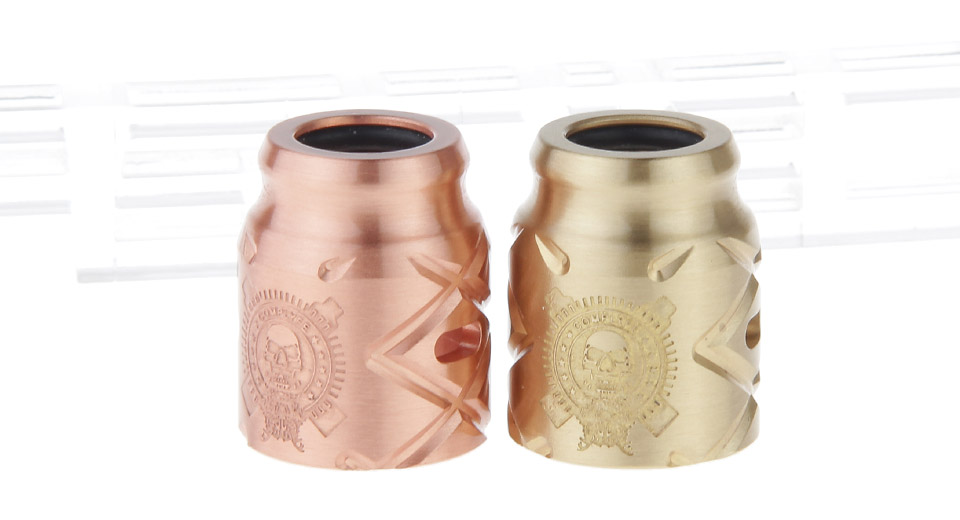Replacement Top Cap for Comp Lyfe Battle X RDA Atomizer (2 Pieces)