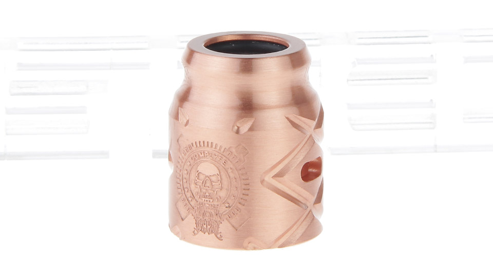 Replacement Copper Cap for Comp Lyfe Battle X RDA Atomizer