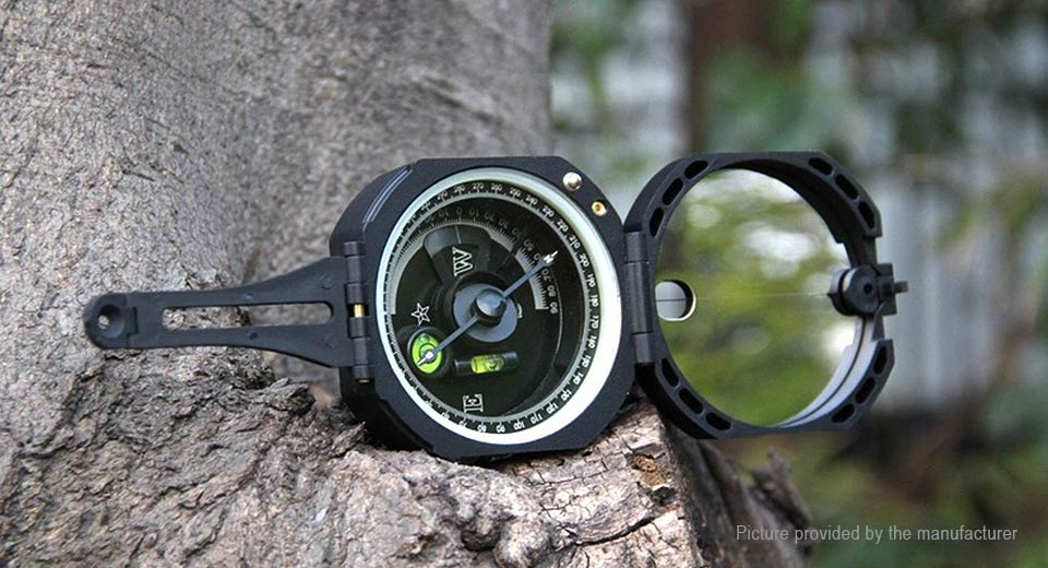 Bolanke M2 Multifunctional Outdoor Compass M2, Black