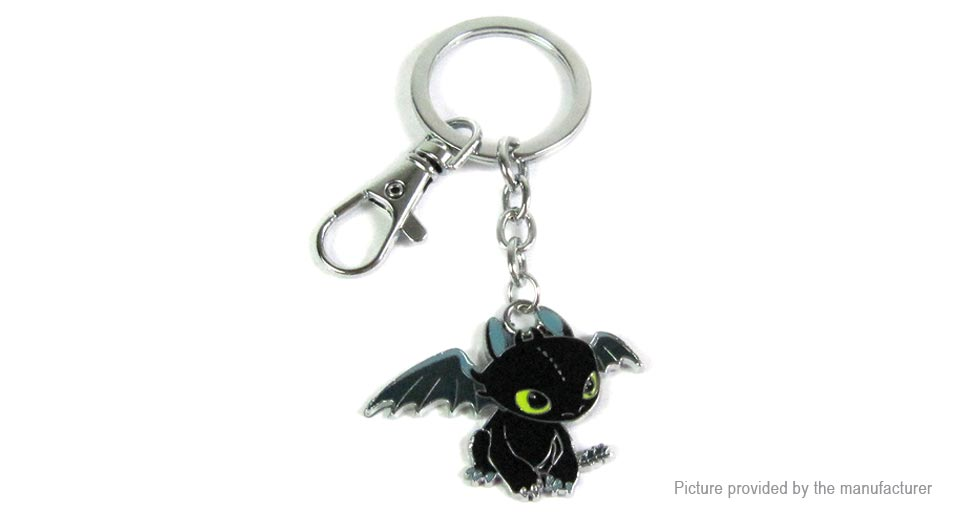 How to Train Your Dragon Toothless Key Ring Pendant