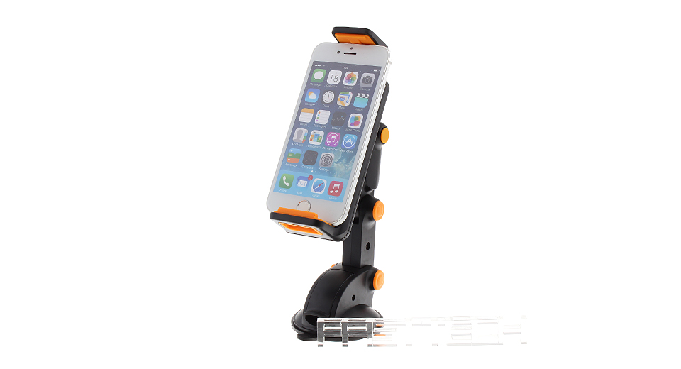 Suction Cup Adjustable Cell Phone Holder Stand