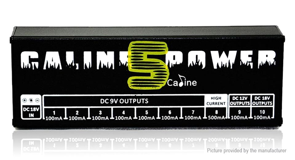 Caline CP-05 Guitar Effect Pedals Power Supply