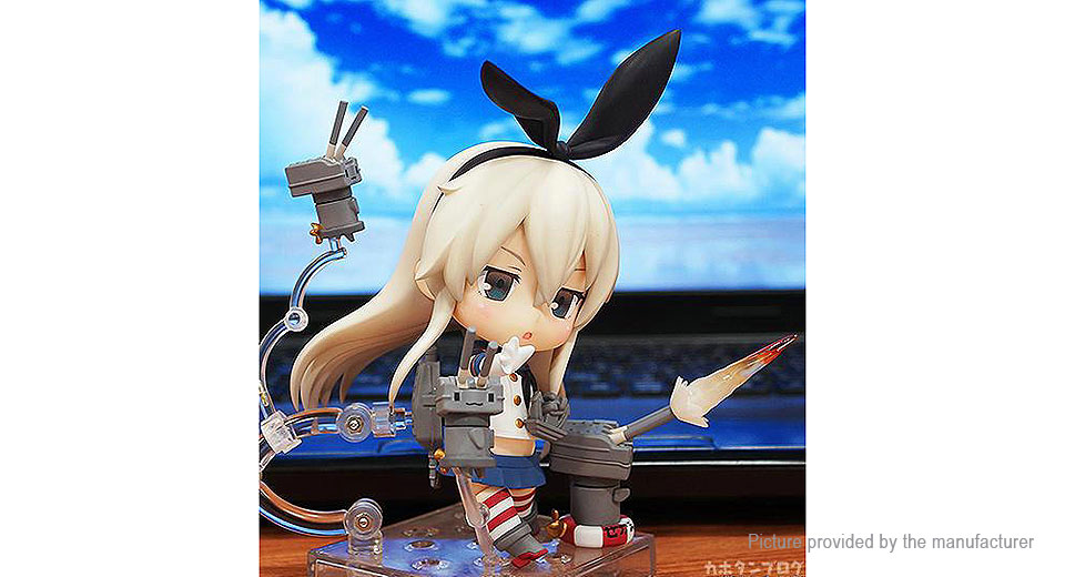 Kantai Collection Kancolle Shimakaze Anime Figure Doll Toy