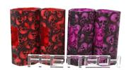 Buy Protective Silicone Sleeve for Wismec Reuleaux RX2/3 150W/200W Mod (4 Pieces) RX2/3, Silicone, 4 Pieces, 2 Colors (Skull Pattern) for $9.35 in Fasttech store