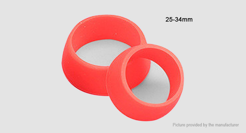 Risk Bicycle Seat Post Silicone Dust Cover Ring (25-34mm)