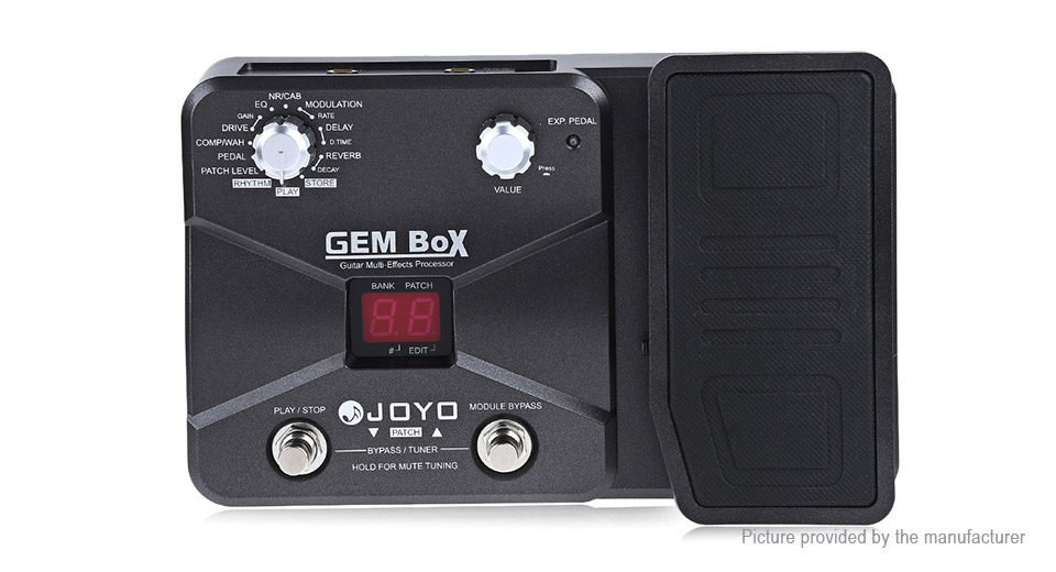 Authentic JOYO GEM Box Guitar Multi-effect Processor Pedal