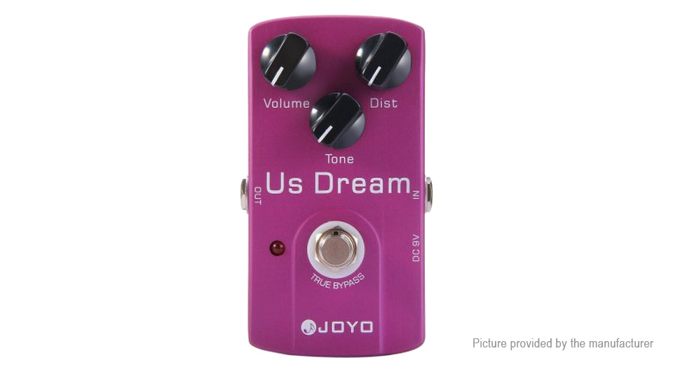 Authentic JOYO JF-34 True Bypass Design Electric Guitar US Dream Distortion Effect Pedal
