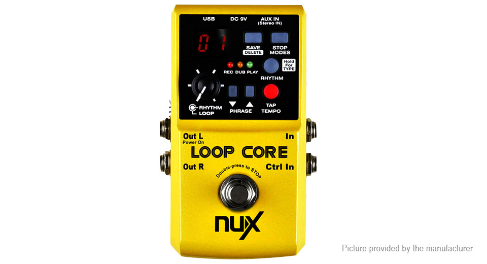 NUX Electric Guitar Loop Core Effect Pedal