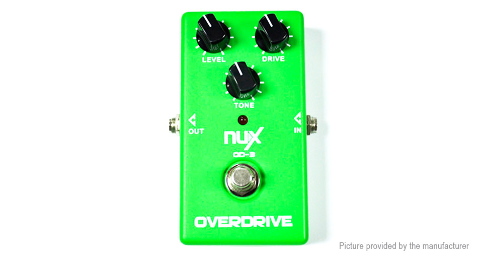 NUX OD-3 True Bypass Design Electric Guitar Overdrive Effect Pedal