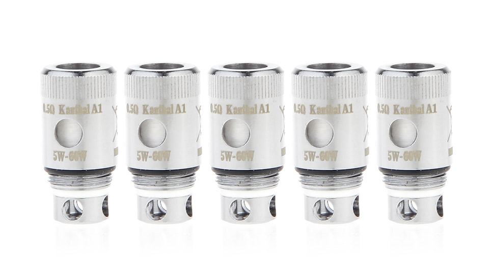 Authentic Artery 49er Tank Cleromizer Replacement Coil Head (5-Pack)