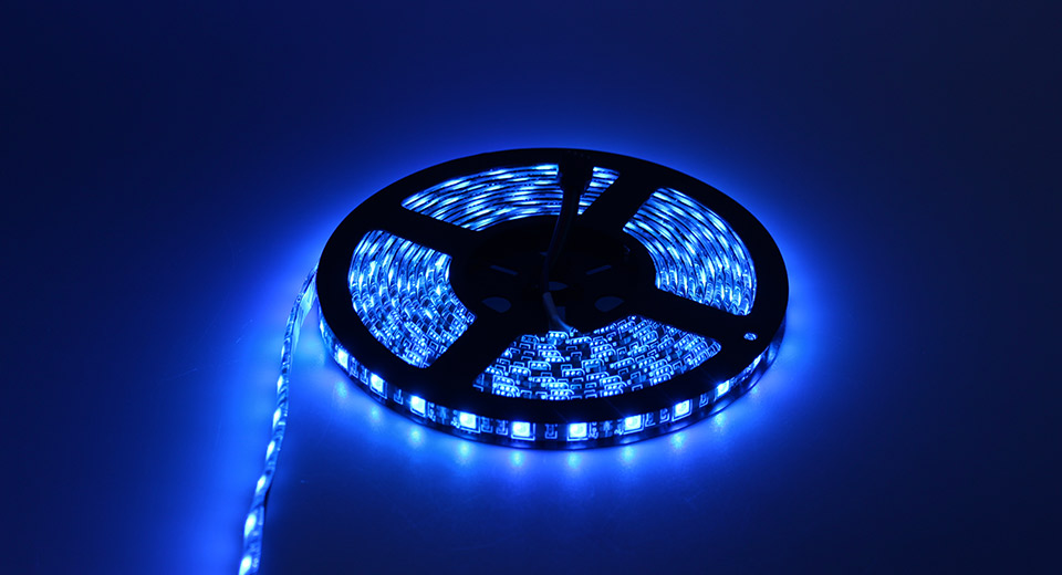 Image of 100W 300*5050 1000LM 450-480nm Blue Light LED Strip Light (500cm)