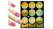 Buy Reusable DIY Nail Art Template Stickers Stamp Stencil Guide Pattern - Y001