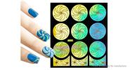 Buy Reusable DIY Nail Art Template Stickers Stamp Stencil Guide Pattern - Y003