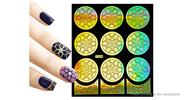 Buy Reusable DIY Nail Art Template Stickers Stamp Stencil Guide Pattern - Y006