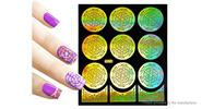 Buy Reusable DIY Nail Art Template Stickers Stamp Stencil Guide Pattern - Y010