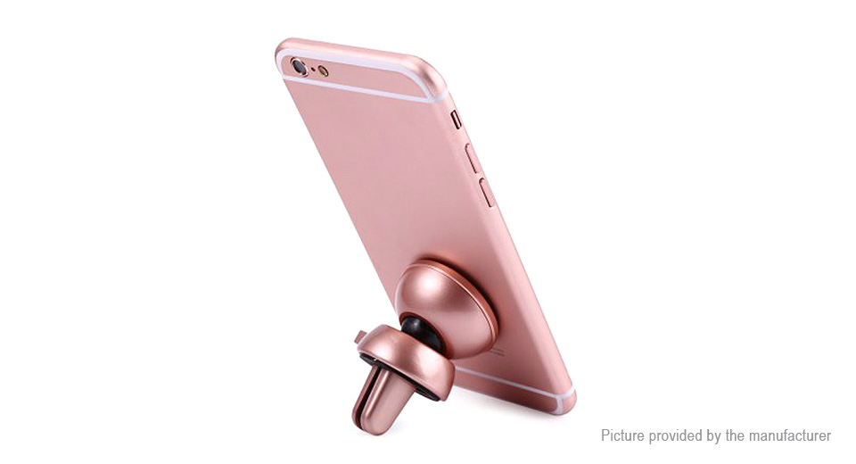 Baseus Magnetic Car Air Vent Mount Holder for Cell Phones Style C, Rose Gold