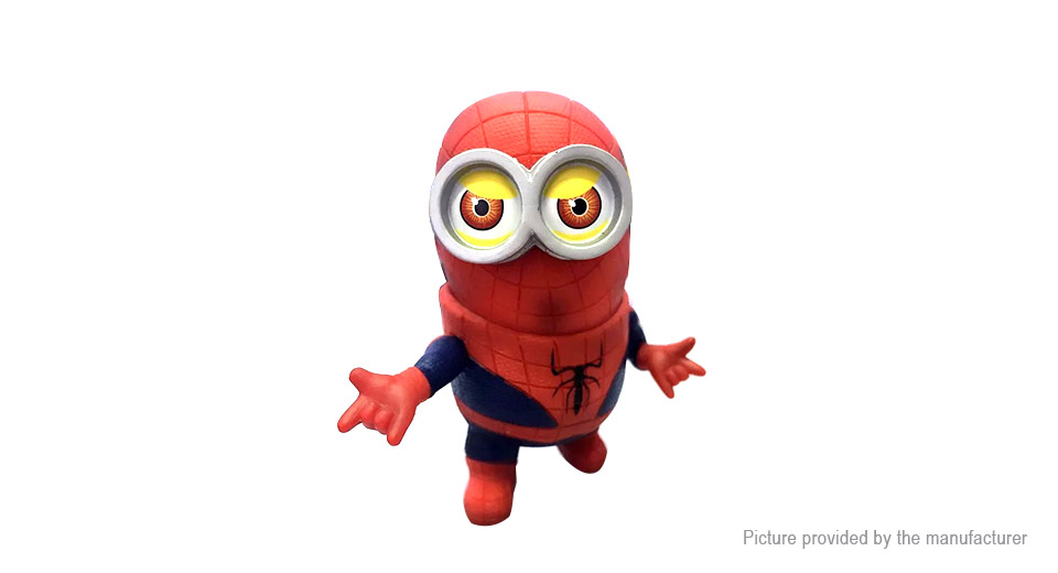 Avengers Cartoon Mini Capsule Spider Man Action Figure Doll Toy