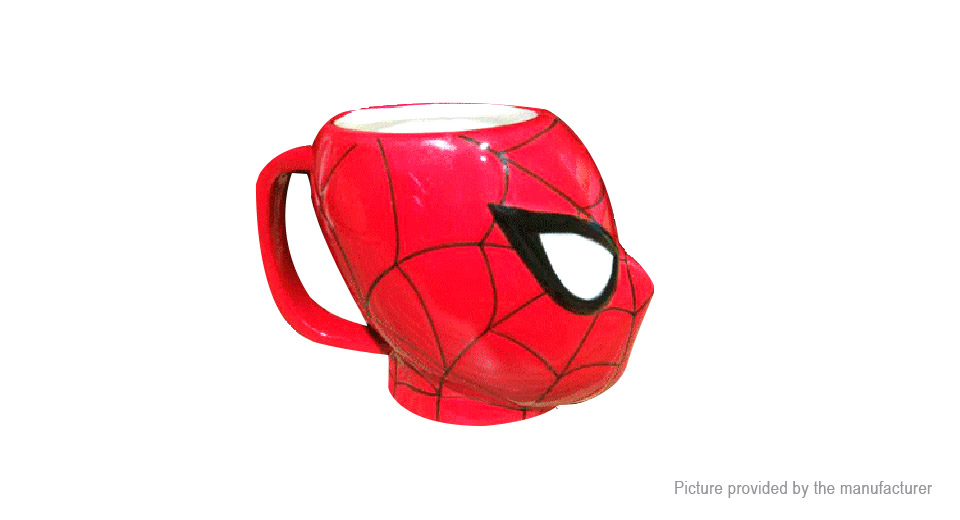 Marvel the Avengers Spiderman Styled Porcelain Mug Cup (200ml)