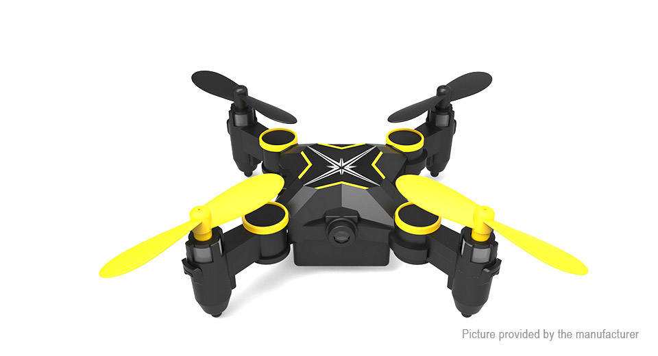 HELIWAY 901S Foldable Pocket Drone (Wifi FPV, 0.3MP Camera)