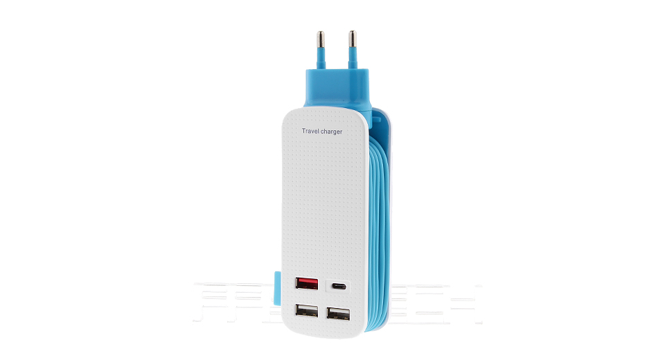 Product Image: 4-port-usb-travel-charger-power-adapter-eu