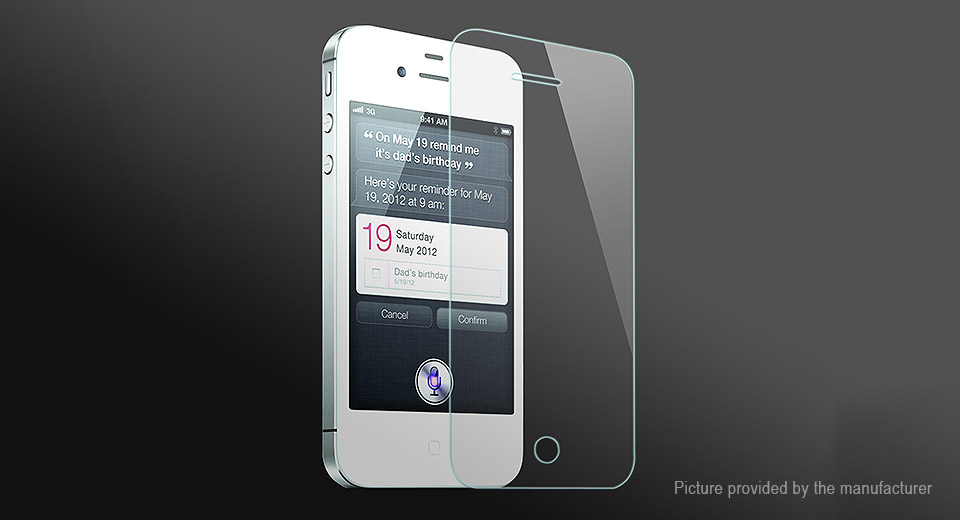 Image of 2.5D Tempered Glass Screen Protector for iPhone 4/4S