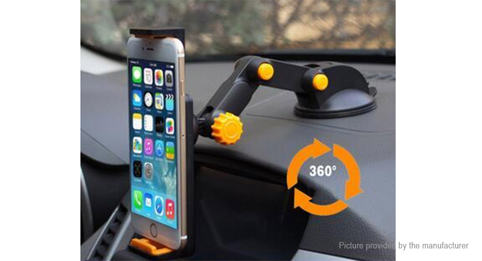 Car Suction Cup Long Extendable Arm Stand for Cell Phones
