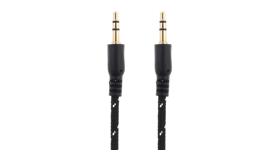 3.5mm Braided Audio Cable (100cm)