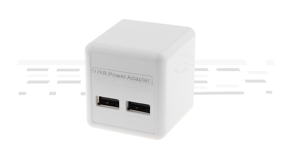 2-Port USB Wall Charger Power Adapter (UK)