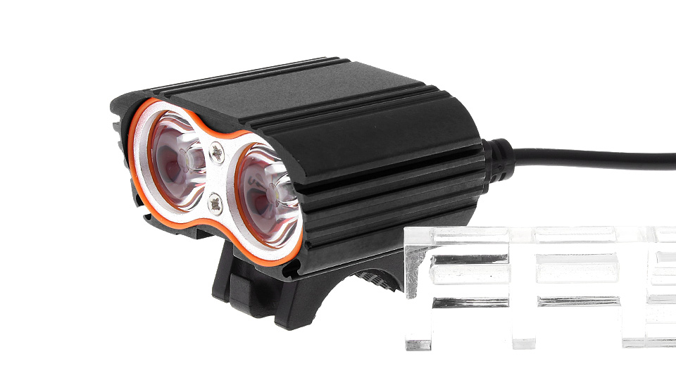 2*LED 4-Mode 600LM LED Bicycle Light