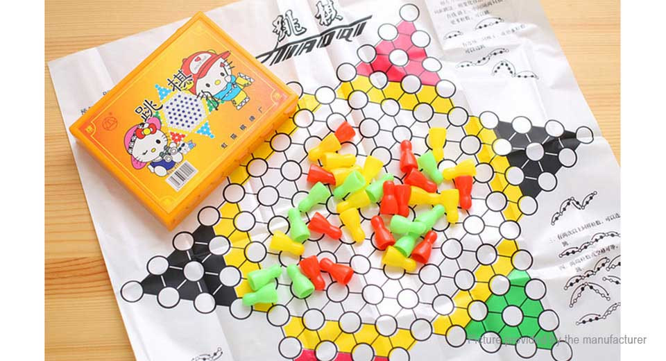 Children Chinese Checkers Game Set Educational Toy