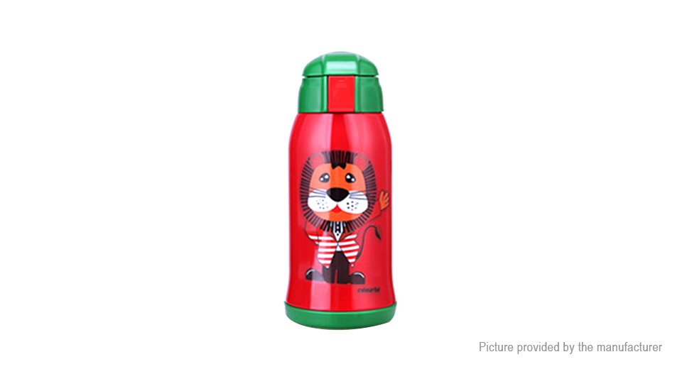 Kumamot Lion Styled Children Thermos Water Bottle Vacuum Cup (600ml)