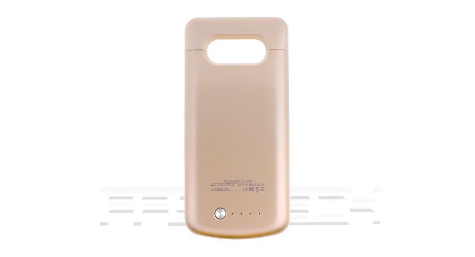 "Image of External Battery Case for Samsung Galaxy S6 Edge Plus (""4200mAh"")"