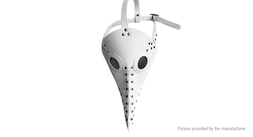 Full Face Punk Gothic Plague Doctor Cosplay Bird Beak Styled Halloween Party Masquerade Mask