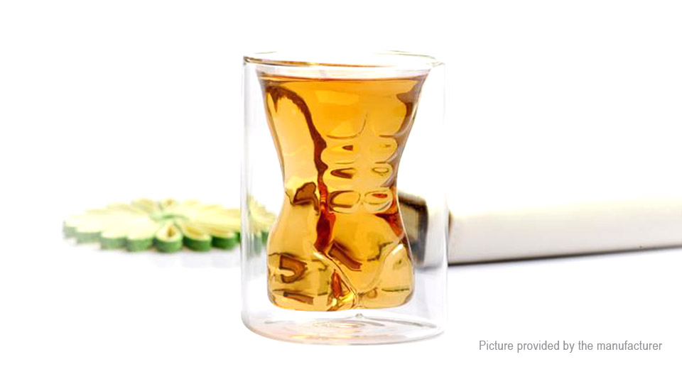 Muscle Man Styled Shot Glass Cup (200ml)