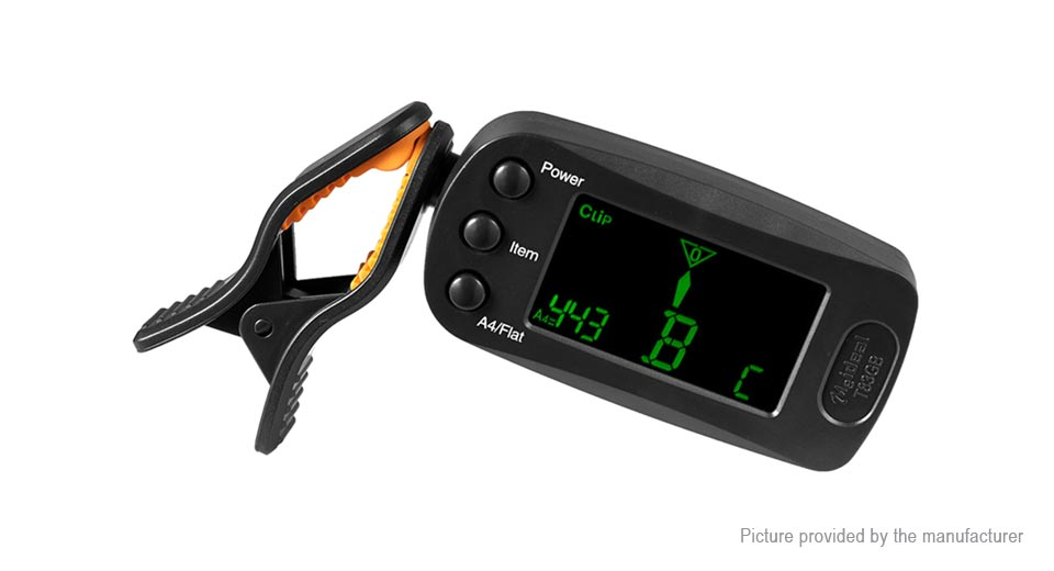 T83GB Clip-on LCD Digital Electronic Tuner