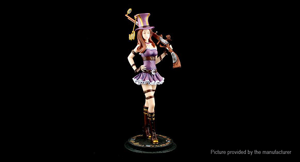 League of Legends LOL Policewoman Caitlin Figure Toy