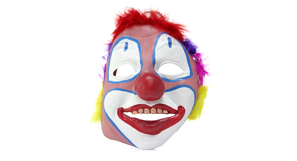 Full Face Clown Styled Halloween Party Masquerade Mask