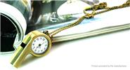 Buy Whistle Styled Retro Alloy Pocket Watch Whistle, Chain