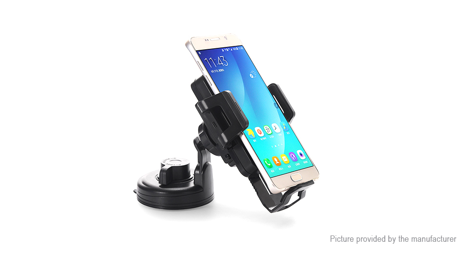 C1+ Qi Wireless Charger Car Mount Holder Stand, 5W, C1+, 5W, Black
