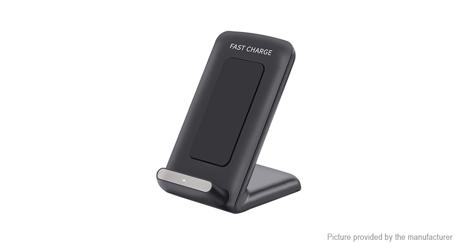 A18 Qi Wireless Charger / Wireless Charging Stand, 10W, A18, 10W, Black