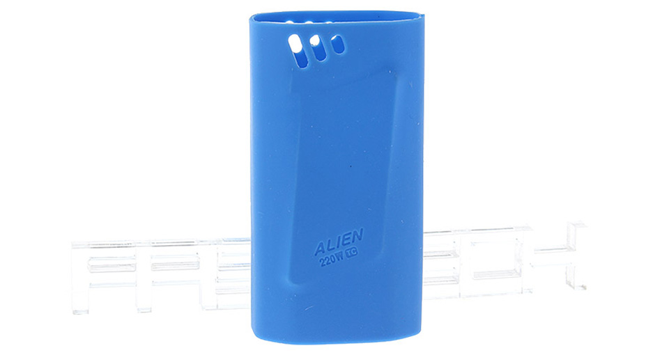 Authentic Clrane Protective Silicone Sleeve Case Smoktech SMOK Alien 220W Mod 220W, Blue