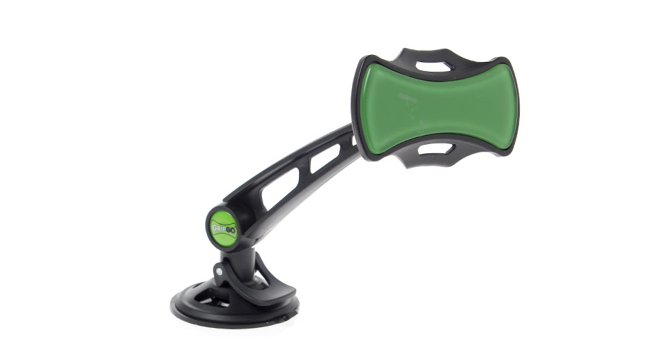 GripGo Car Suction Cup Mount Cell Phone Holder Stand