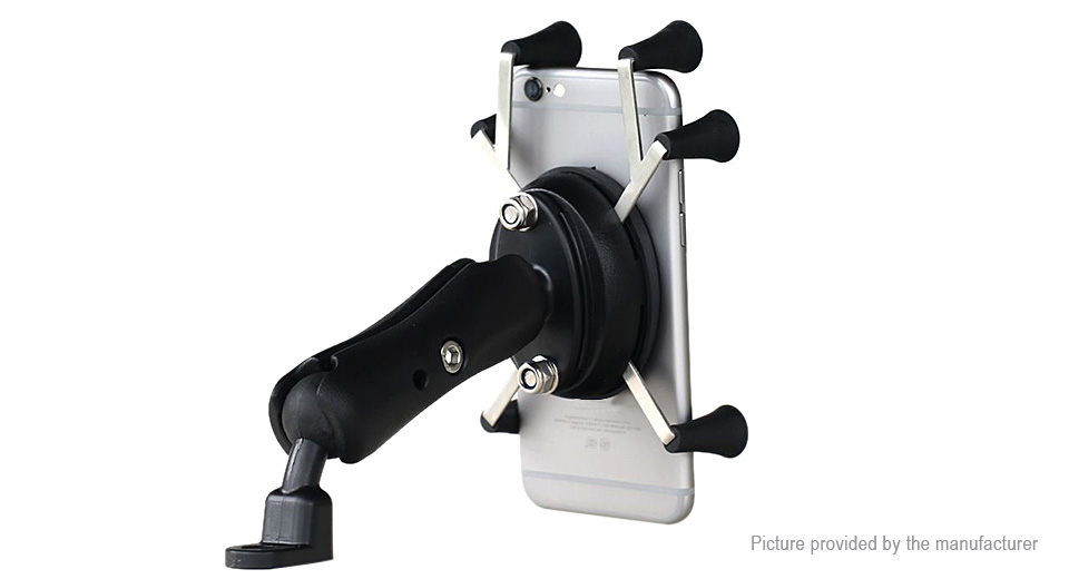 Motorcycle / Electric Bike / Bicycle Rearview Mirror Mount Cell Phone Holder