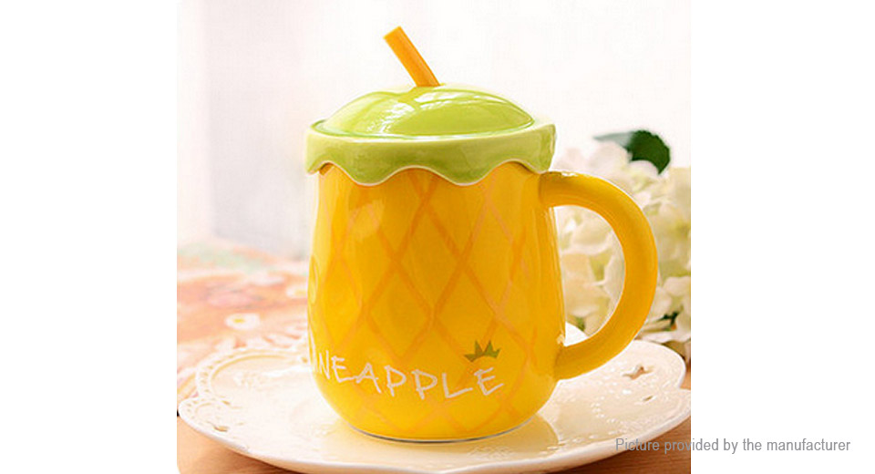Fruit Pattern Porcelain Mug Cup (500ml)