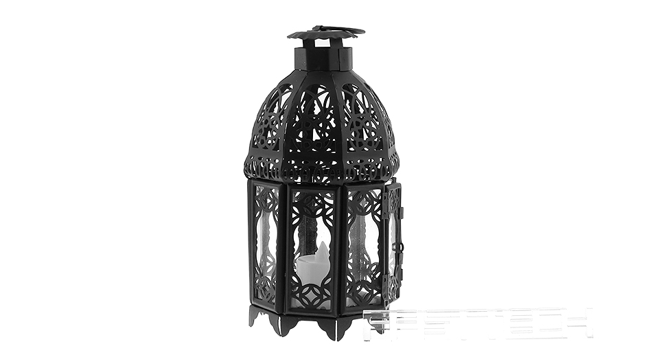 Italy Style Candlestick Candle Holder Italy Style, Black