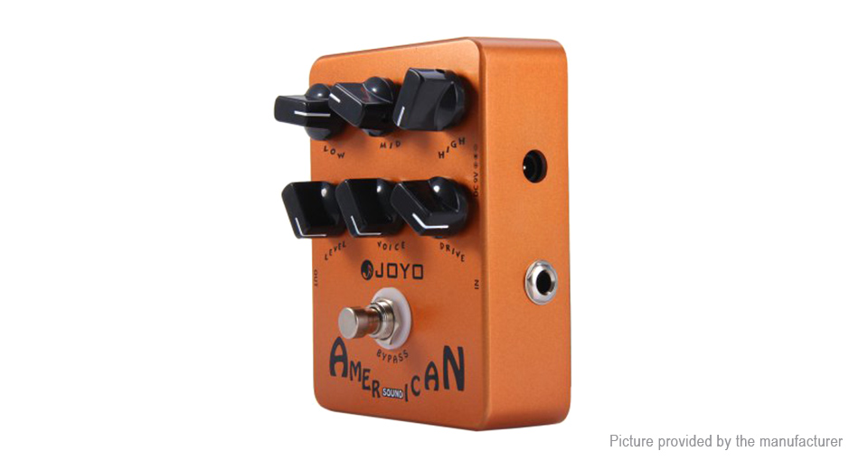 Authentic JOYO JF-14 American Sound Fender 57 Deluxe Amp Simulator Electric Guitar Effect Pedal