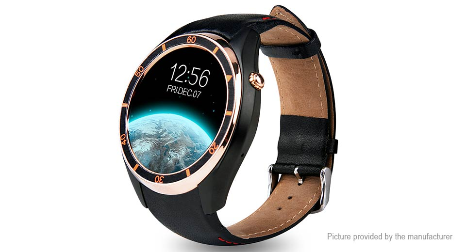 IQI I3 1.39 AMOLED Touch Screen 3G Smart Watch Phone