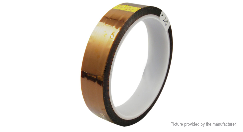 High Temperature Resistant Adhesive Kapton Polyimide Tape (200mm*33m)
