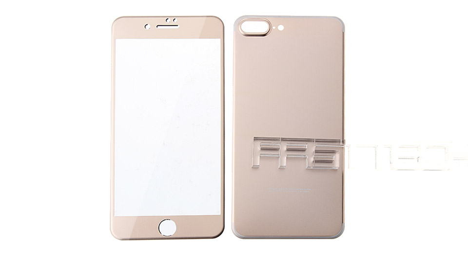 Front & Back Tempered Glass Screen Protectors for iPhone 7 Plus